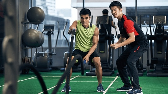 Personal workout training for beginners in Malaysia